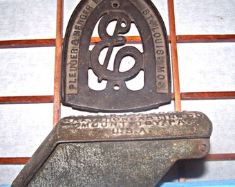 Vintage  Arctic Ice Shaver and Cast Iron HOT IRON PLATE