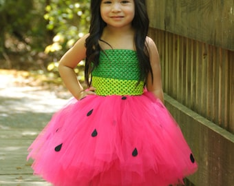 Sweet Watermelon Sugar Tutu Dress