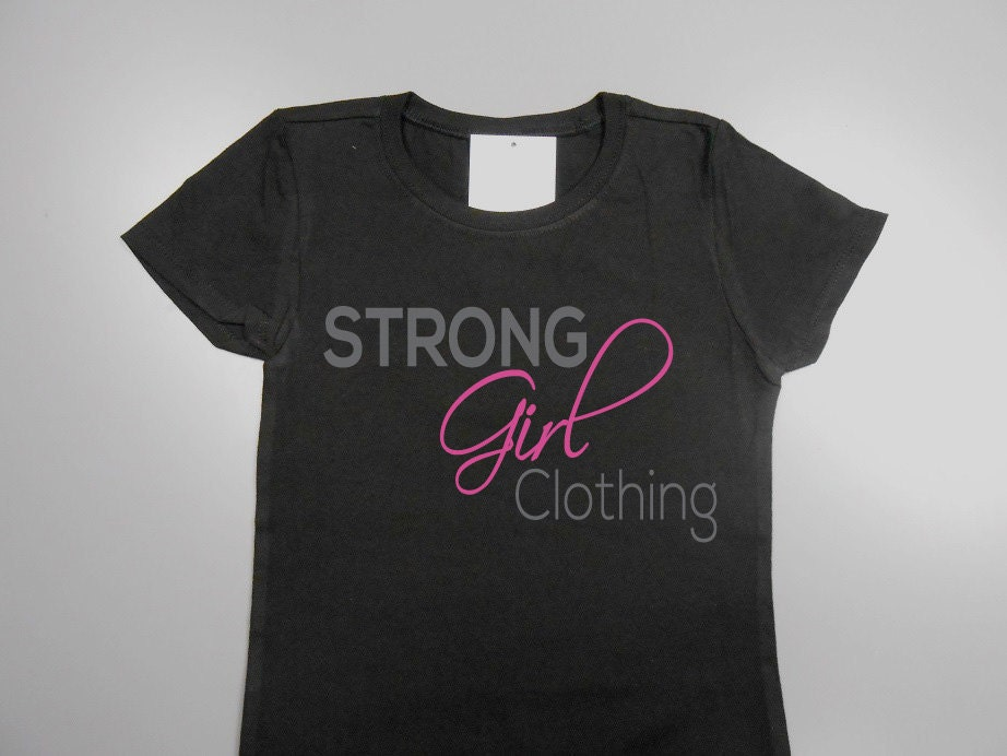 Strong Girl Clothing Kids T-Shirt. Kids By StrongGirlClothing