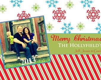 CHRISTMAS CARD  (Digital Print File)
