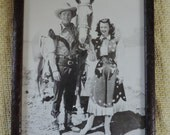 Framed Picture of Roy Rogers and Dale Evans