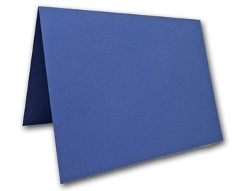 Blank Blue Place Cards 25 pack
