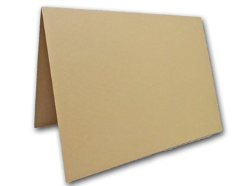 Blank Light Brown Place Cards 25 pack