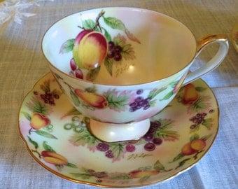 Lefton China Teacup and Saucer
