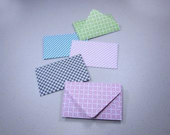 Handmade Giftcard Envelopes—Stripes