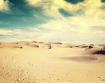 Surreal Family Photo, Sahara Desert, Fine Art Photo, Film Photography, Always by Your Side