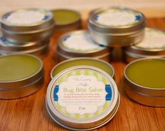 Bug Bite Salve {2 oz} - Insect Sting Relief - Bug Bite Relief - First Aid Cream