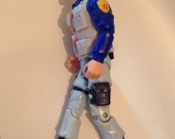 Vintage Eleletronic Action Figure By Toy Island