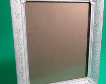 Shabby Chic White Distressed Picture Frame