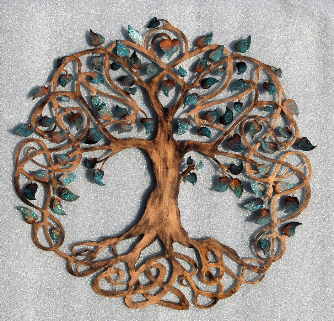 tree of life infinity tree wall decor wall art. Black Bedroom Furniture Sets. Home Design Ideas