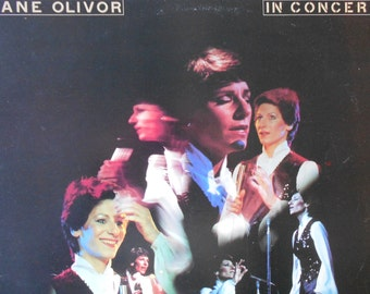 Jane Olivor - In Concert - vinyl record