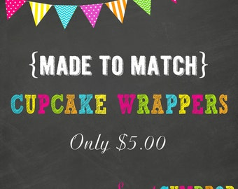 Cupcake Wrappers - Printable
