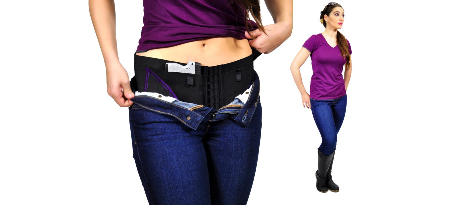 Hip Hugger Micro Can Can Concealment 174 Womans Holster