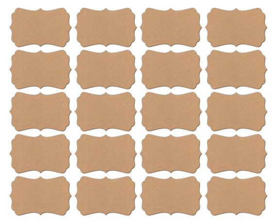 Blank Stickers / Blank self Adhesive Labels for Baby Shower