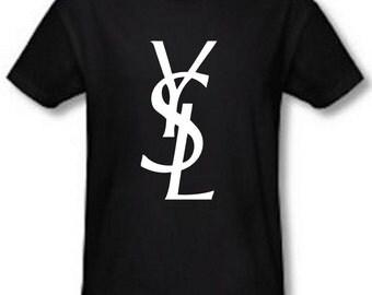YSL Inspired Logo T-shirt