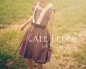 Tween - Cafe Dress PDF Pattern Sizes 7-14