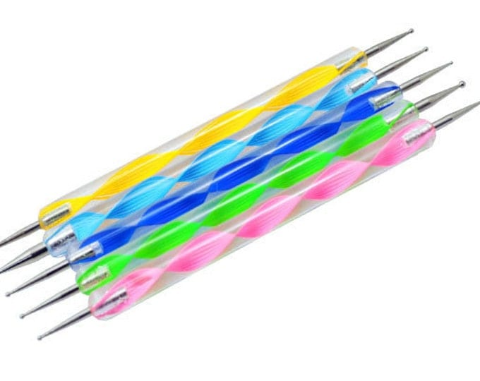 5 Size Nail Dotting Tool