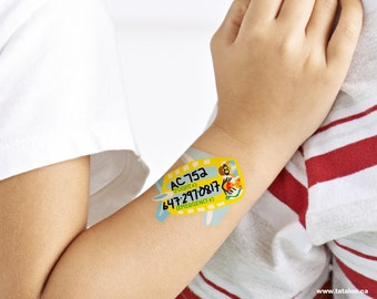 Temporary Tattoo Travel Set for Kids (Set of 2)