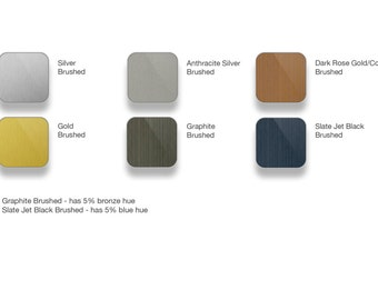 Samsung Galaxy S6 Full Body Wrap DECAL Sticker Skin Kit Metal Series by Stickerboy - Set 2