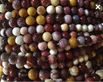 6mm Mookaite Round Beads