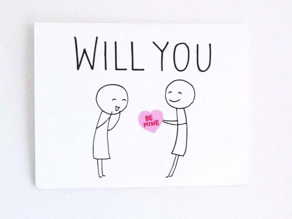 Cute Lesbian Valentines Day Card Funny Card for Her – Lesbian Valentines Day Cards