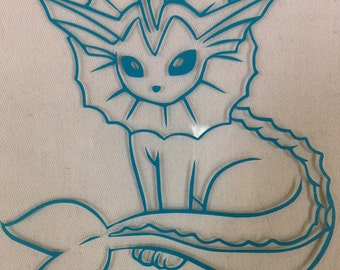 Vaporeon Decal
