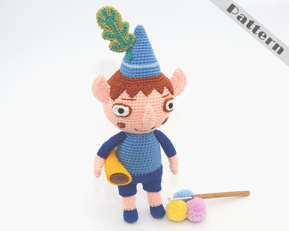 Elf Ben Soft Toy Inspired By Ben and Hollys by TatieSoftToys
