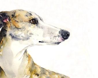 Dog portrait, custom, original watercolor painting, dog painting, dog art handmade, unique gift/present.