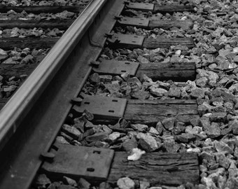 Railroad Track Abandoned Fine Art Print