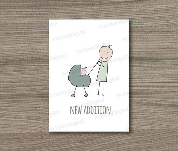 Printable newborn baby greeting card congratulations on the new il570xn m4hsunfo