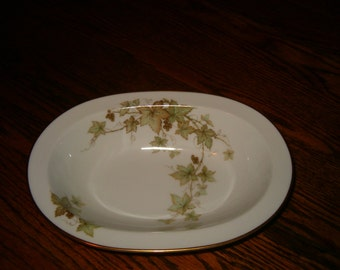 Vintage Noritake Ireland Trailing Ivy Oblong Vegetable Bowl