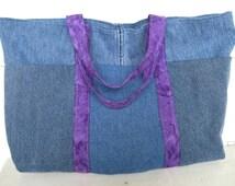 denim purse, upcycled, ecofriendly jeans pocket organizer bag