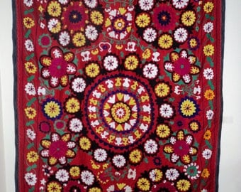 Suzani Wall Hanging or Bed Cover