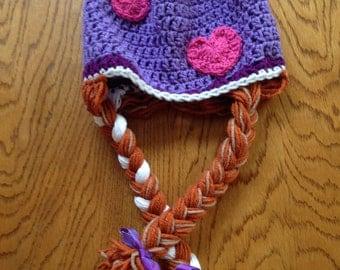 Frozen Inspired Princess Anna Hat