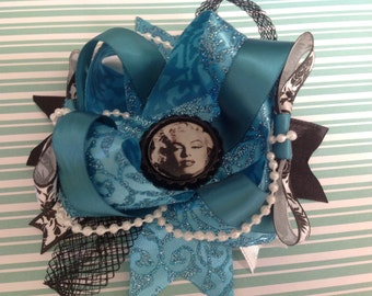 Marilyn Double layer bow