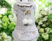 Juny Bongbong- Designer Handmade winter hood Pets / Free Shipping