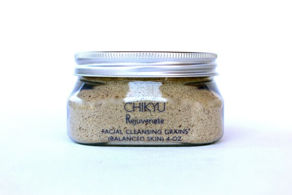 Facial Cleansing Grains - Rejuvenate (Balanced Skin) 4oz