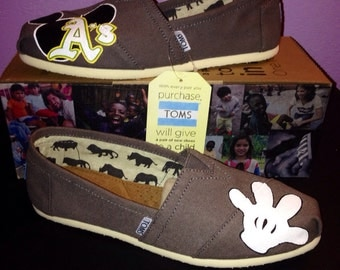 Gray A's/Disney Toms