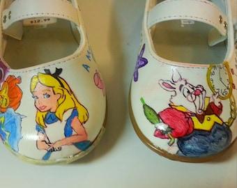 Children's Alice in Wonderland Shoes