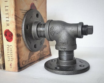 Industrial Pipe Bookend