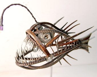 metal Angler Fish