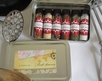 spice kits spices of the world tra vel to south america spice gift set ...