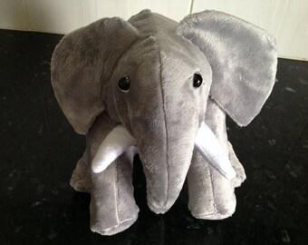 Handmade Plush elephant toy