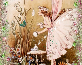 Beautiful Fairy Collage.