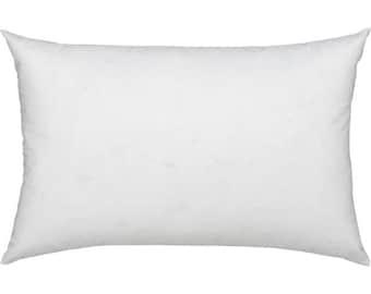 12x40 Pillow Insert/ Pillow Form/ Polyester Fiberfill
