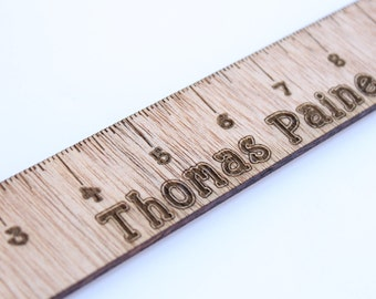 Personalized Ruler, Custom Ruler, Ruler, Custom Wooden Ruler, Engraved Wooden Ruler, Children's Ruler, Custom Child's Ruler, Rulers