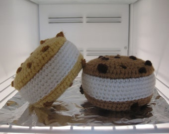 Ice Cream Cookie Sandwich