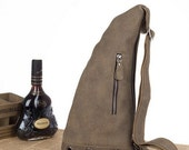 Leather Briefcase / Messenger /Cheat/ Laptop /Leather BACKPACK/ Men's Bag in Brown