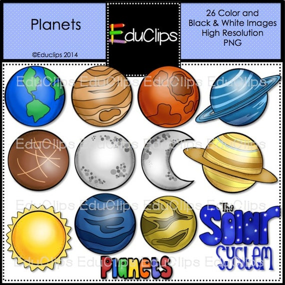 Planets Stock Vectors Clipart and Illustrations