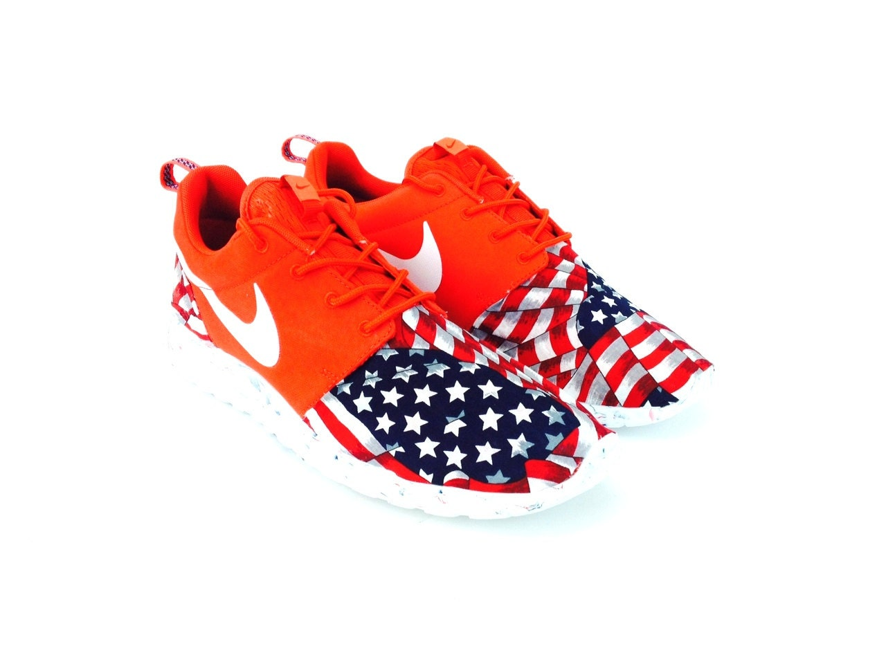 American Flag Nike Running Shoes